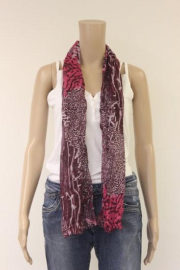 Paars/roze sjaal