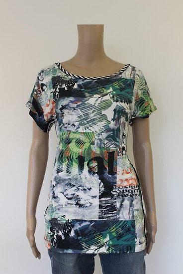 Sani Blue - bont t-shirt, maat 38