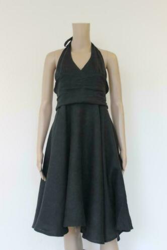 Bitte Kai Rand zwarte jurk maat 40