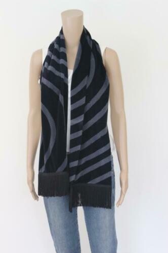 Chacok zwart/grijze sjaal