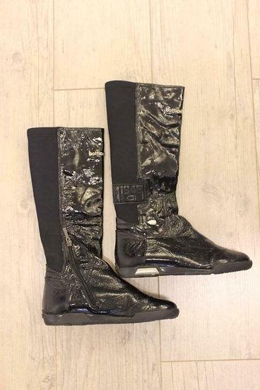 Botticelli - zwarte lakleren laarzen, maat 38