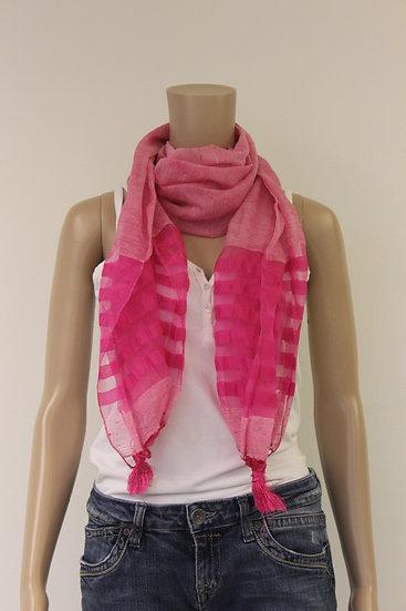 Zuurstokroze sjaal