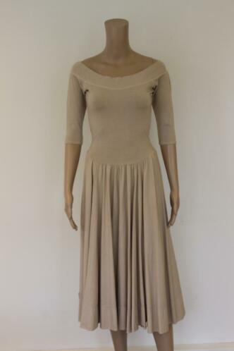 Elisa F beige jurk maat 36
