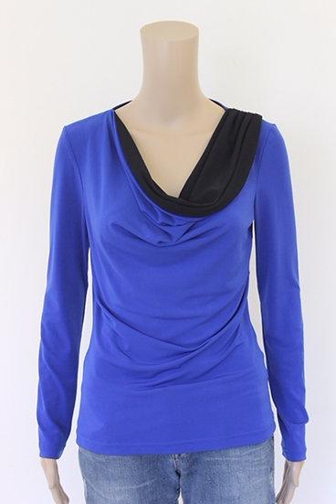 Mart Visser - Blauw/zwart T-shirt, maat 38