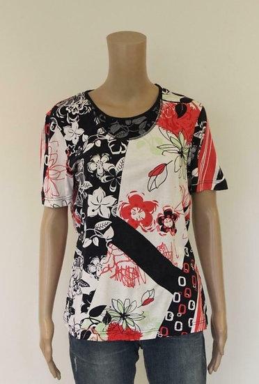 Gerry Weber - bont t-shirt, maat 40