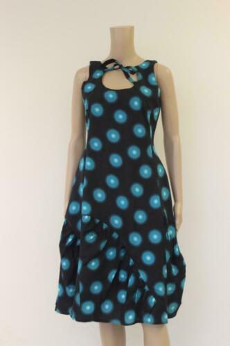 ART blauwe jurk maat S (maat 36)