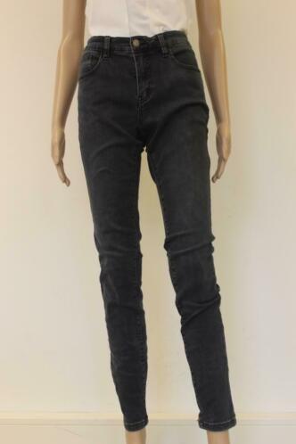 Geisha grijszwarte jeans maat M/confectiemaat 38