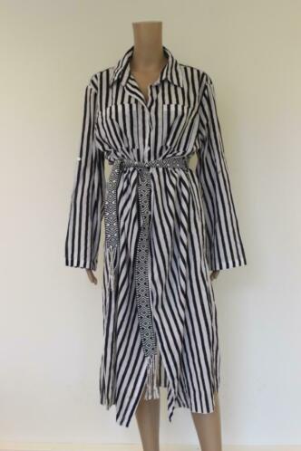 Summum zwart/witte jurk maat 38