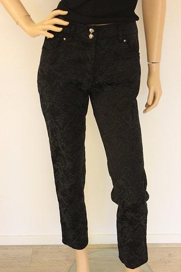 Zerres - Zwarte 7/8e broek, maat 40