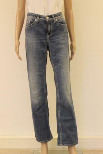 Cambio blauwe jeans 'Norah Straight' maat 38