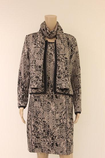 Rozes of Avalon - Set van jasje, jurkje en sjaaltje, maat 42