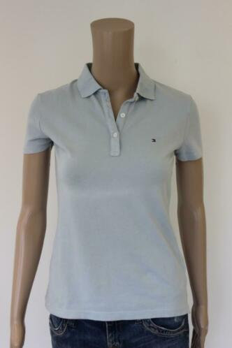Tommy Hilfiger lichtblauwe polo maat XS (maat 34/maat 36)