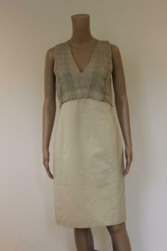 Piazza Sempione - beige jurk, maat 36