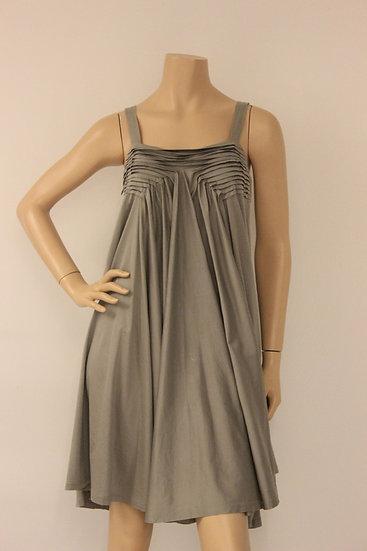 Charlotte Eskildsen - grijze jurk, maat M (maat 38/40)