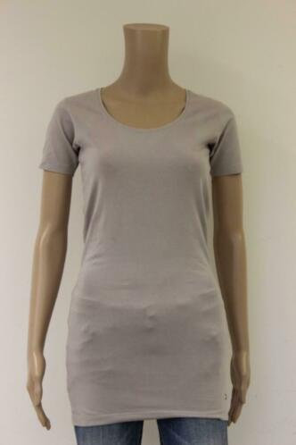 Moscow lila lang basic t-shirt maat S