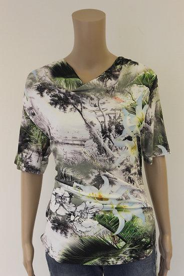 Rabe - bont t-shirt, maat 40