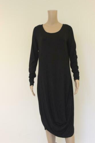Elsewhere zwarte jurk maat M (maat 38/maat 40)