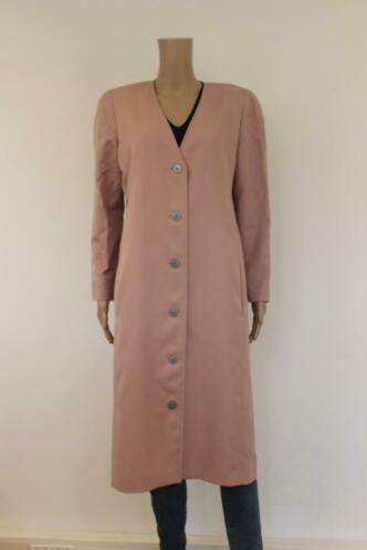 Studio Dress - de Luxe oudroze lang jasje, maat 38