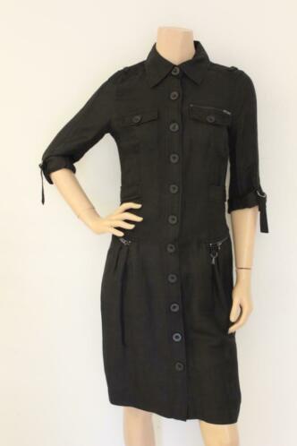 Essentiel zwarte jurk maat 36/maat 38