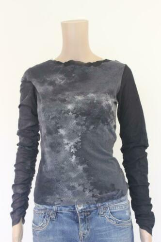 La Belle Histoire grijs t-shirt maat 40