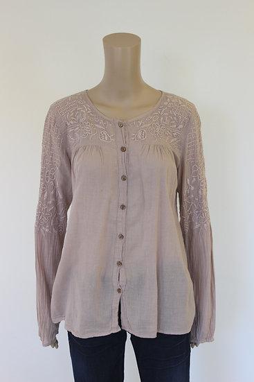 Culture - Oudroze blouse, maat 38/40