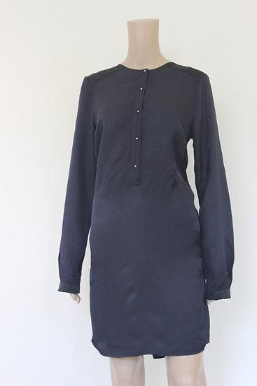 Vanilia donkerblauw jurkje maat 36