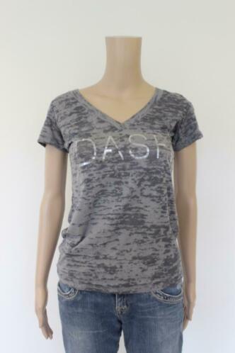 DASH grijs t-shirt maat S (maat 36)