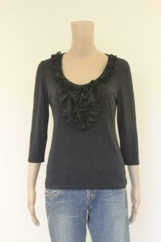 Zwart t-shirt maat 36/38