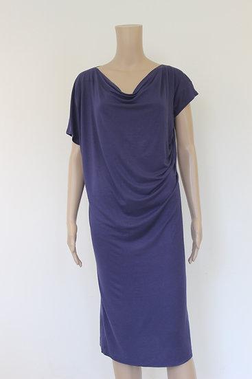 Essentiel blauwe jurk maat 2 (maat 38)