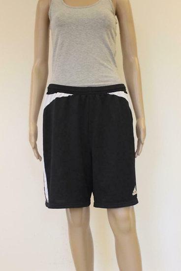 Adidas zwart/wit sportbroekje maat 42