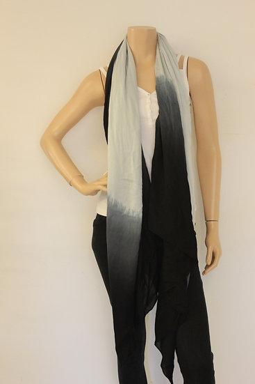 Harper & Yve - Blauw/zwarte sjaal