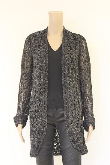 Just B zwart/bruin/wit vest maat XL (maat 42/maat 44)