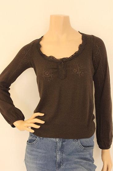 Essentiel - Bruin T-shirt, maat 40