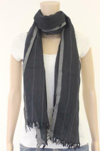 Zwart/grijze sjaal.
