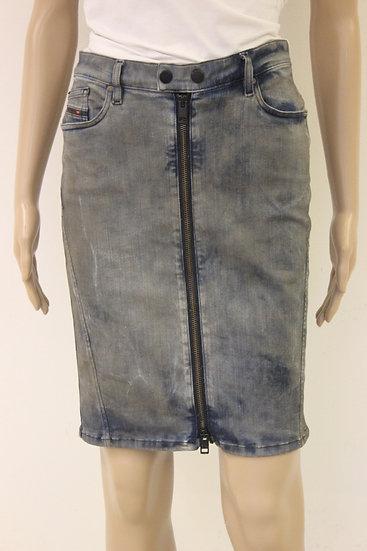 Diesel spijkerrokje jeansmaat 26 (maat 34/maat 36)