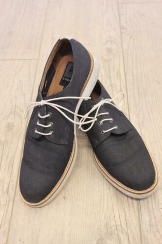 G-star - blauwe stoffen schoenen, maat 40