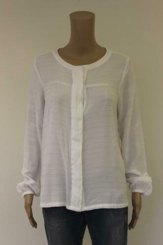 S. Oliver witte blouse maat M (maat 38/maat 40)