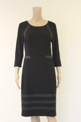 Tia zwarte jurk maat 38