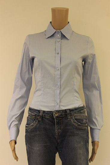 Imperial lichtblauwe bodyblouse maat M (maat 36)