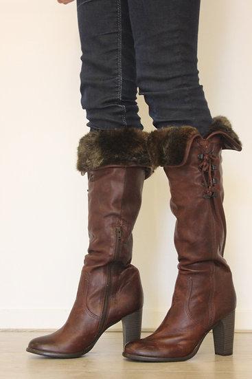 Georges Rech - Bruine hoge laarzen, maat 40