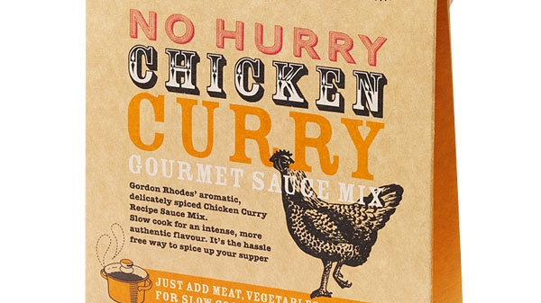 No Hurry Chicken Curry Gourmet Sauce Mix