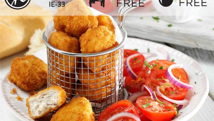 10 x Breaded Chicken Chunks(GF)