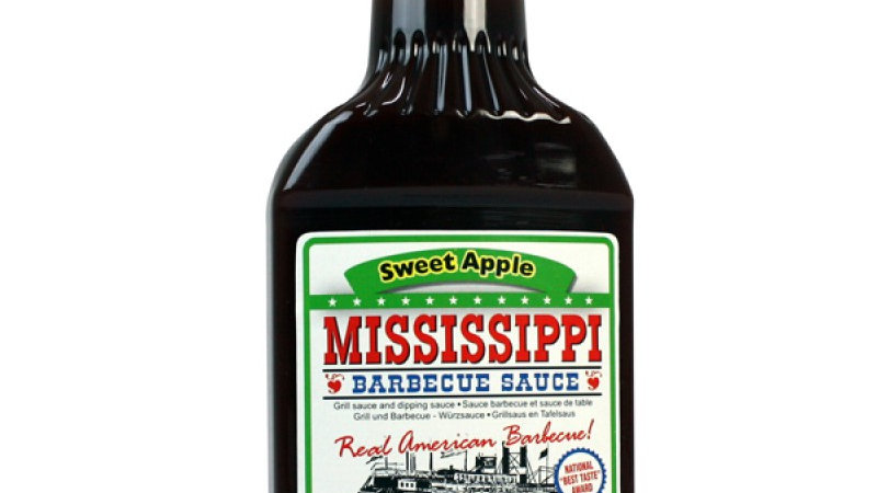 Mississippi Sweet Apple Barbecue Sauce
