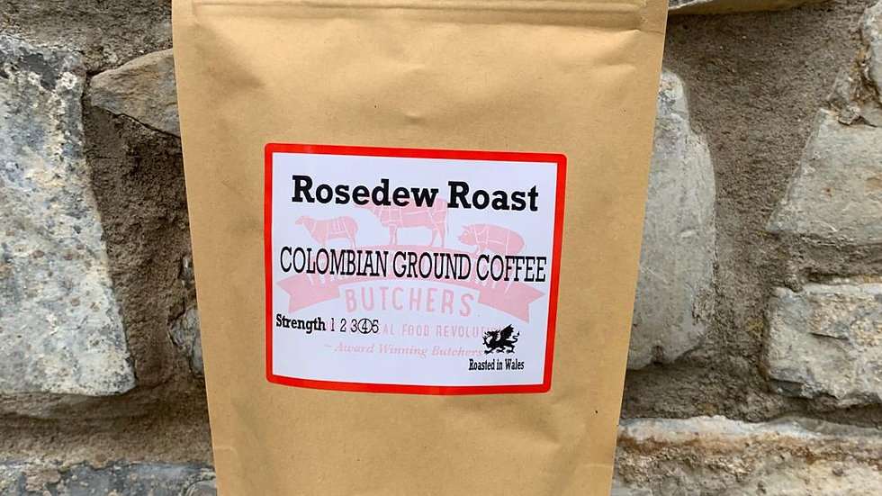 Rosedew Roast Columbian Ground Coffee