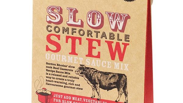Slow Comfortable Stew Gourmet Sauce Mix