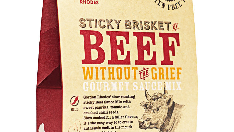 Sticky Brisket of Beef Without The Grief Gourmet Sauce Mix