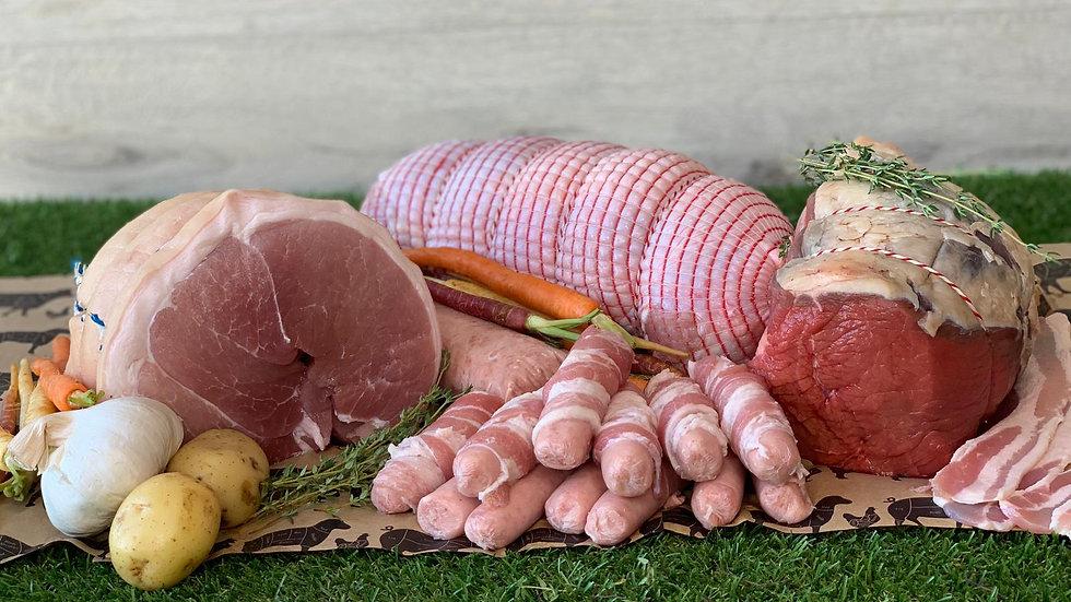 8-10 People Fresh Meat Xmas Hamper