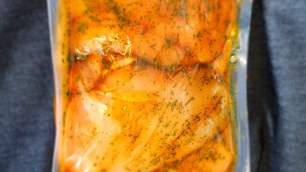1kg Marinated Garlic and Butter Chicken Breasts