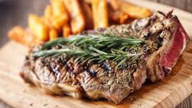 *Offer 8oz Sirloin Steak and Chips*