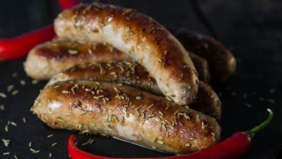 6x Dragon Pork Sausage (hint of chilli)